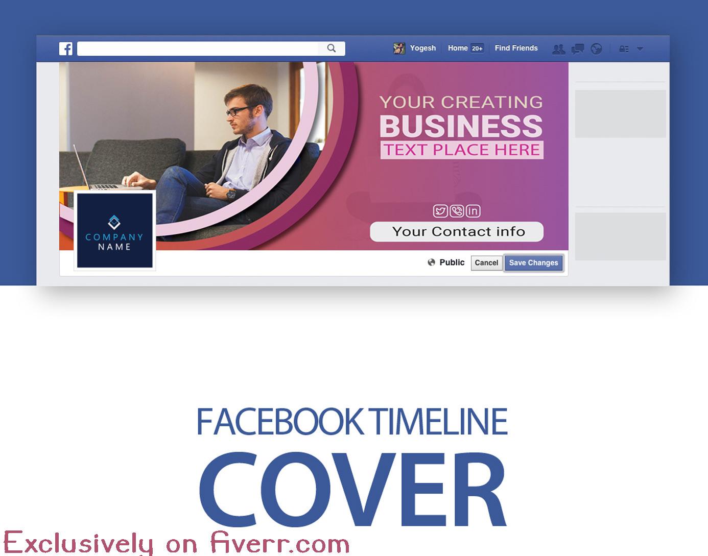 Creative Facebook Banner Ads Design . on Behance
