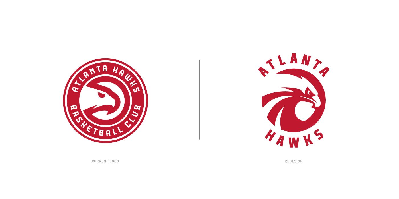 Atlanta hawks logo concept on behance buycottarizona