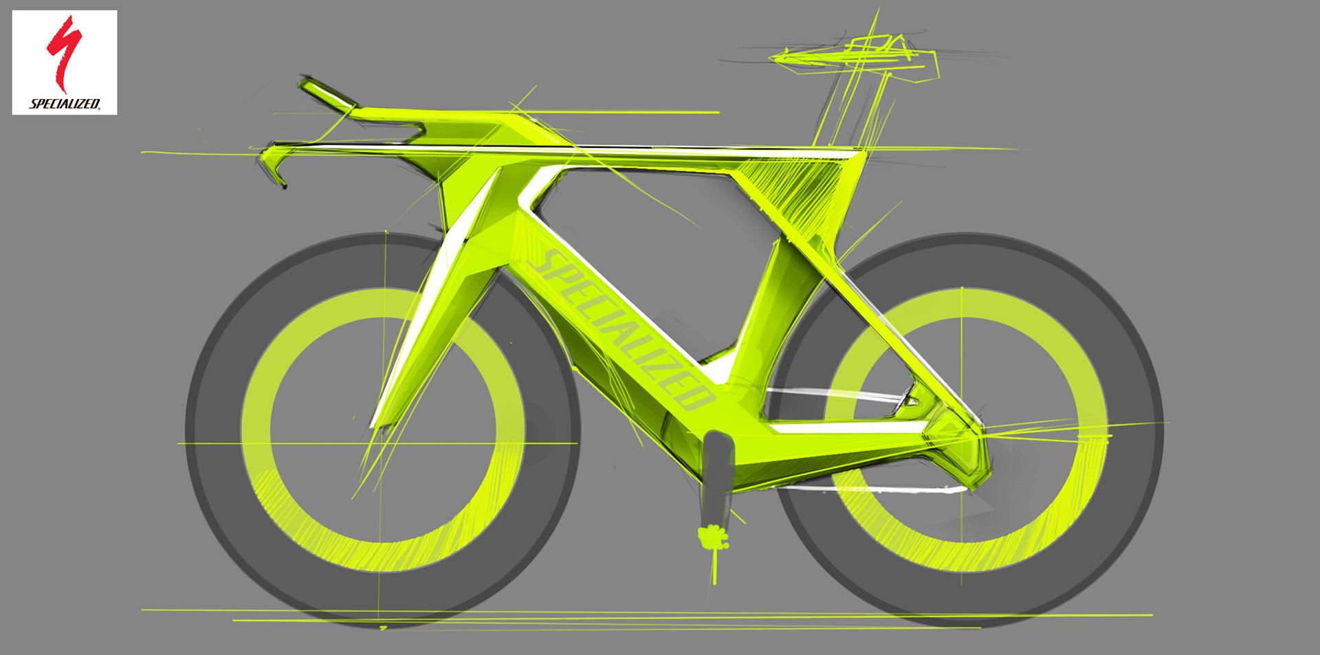 Фото картинки - Макет велосипеда SPECIALIZED по дизайну PARADOX