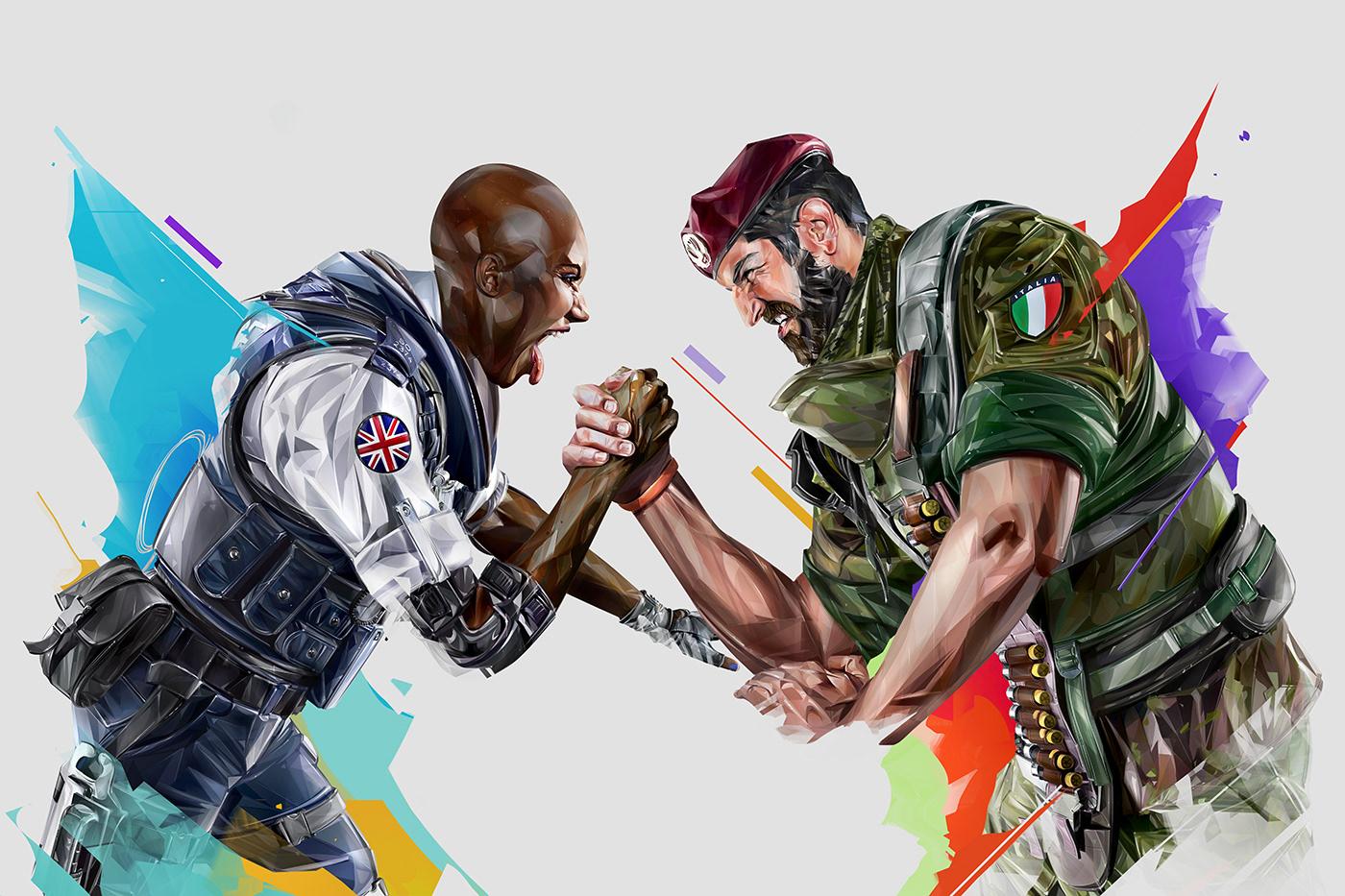 Rainbow Six Siege Six Invitational 2019 On Behance