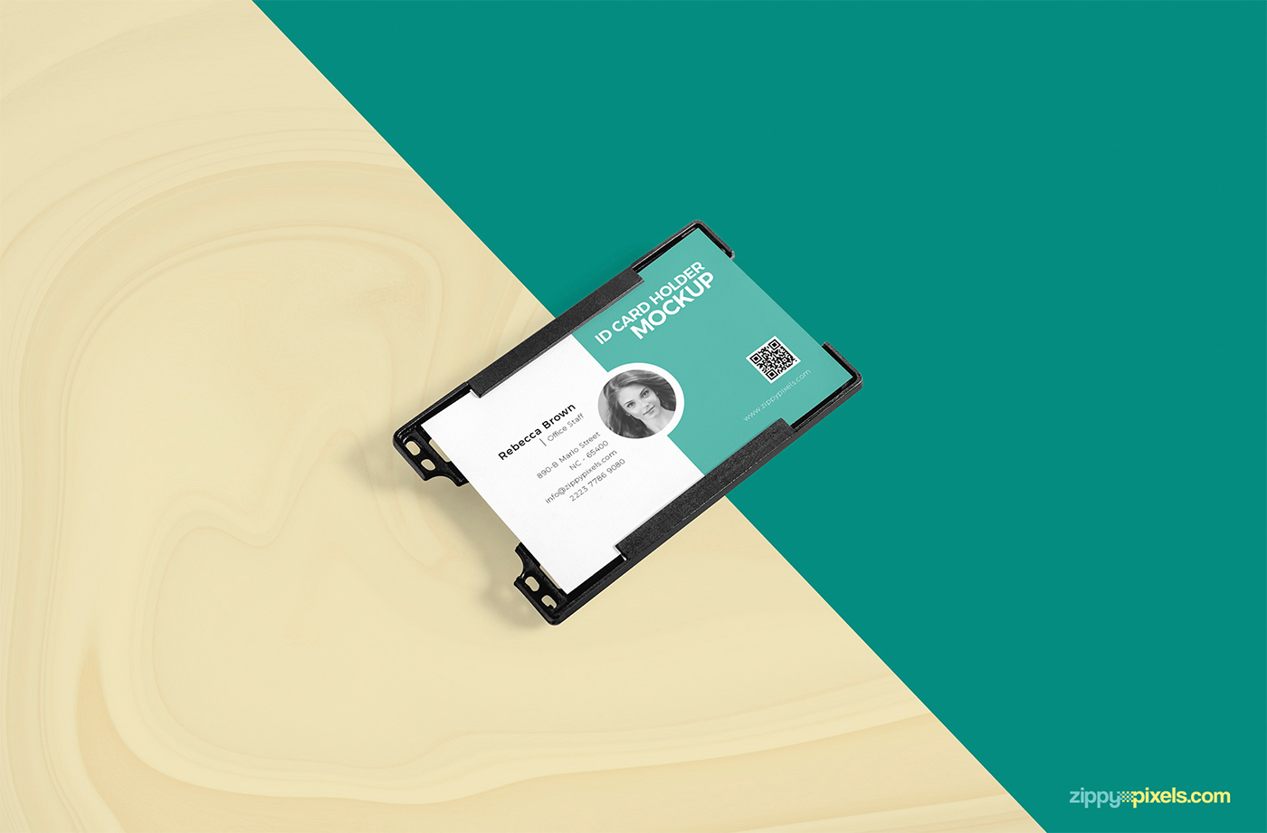 Free beautiful id card holder mockup on behance click here to download this beautiful id card holder mockup badge mockup altavistaventures