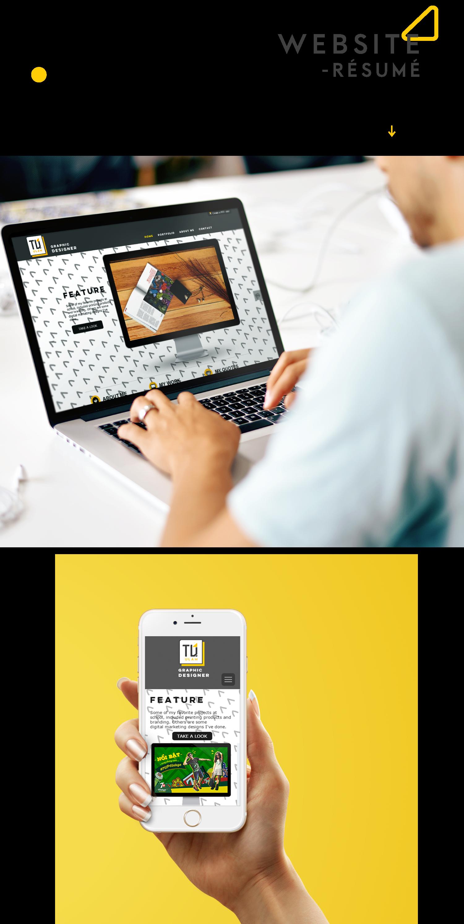 Tu U Lam - Self Branding/ Résumé/ Portfolio on Behance