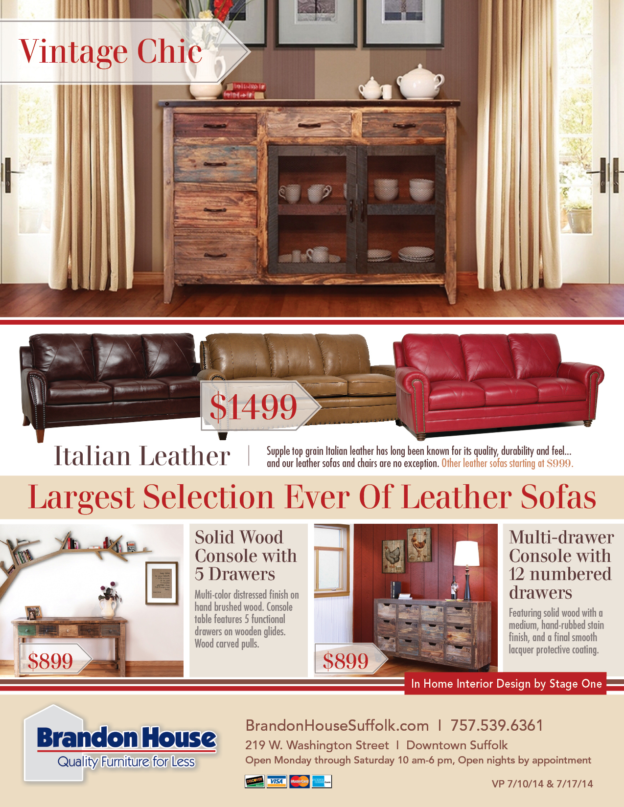 Good Project: Brandon House Furniture On Behance