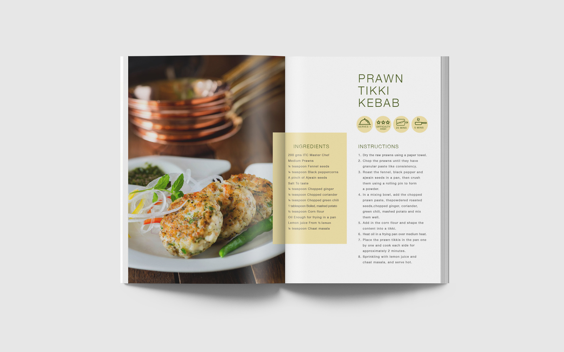 ITC Master Chef Recipe Book on Behance