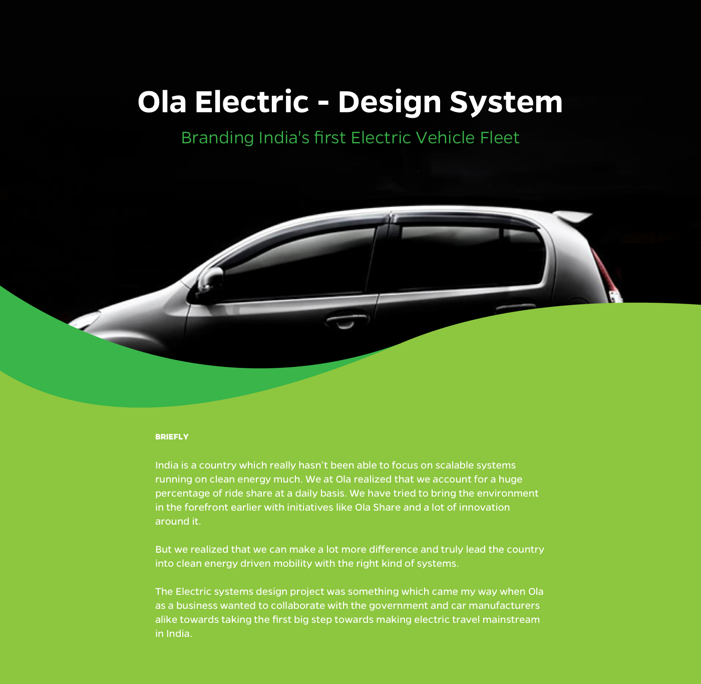 Ola Electric- Design System on Behance