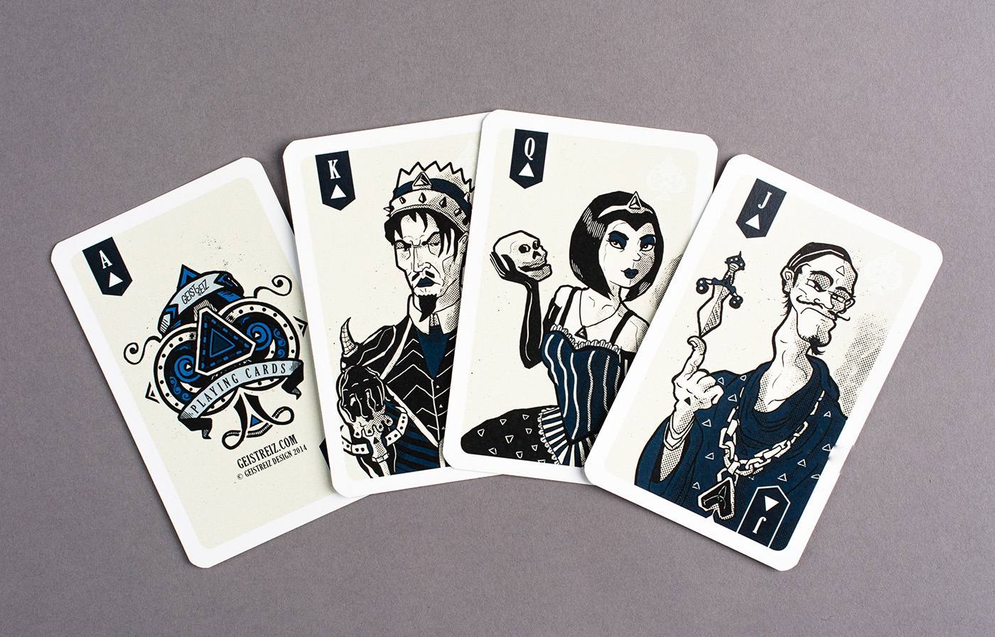Geistreiz Playing Card Deck on Behance