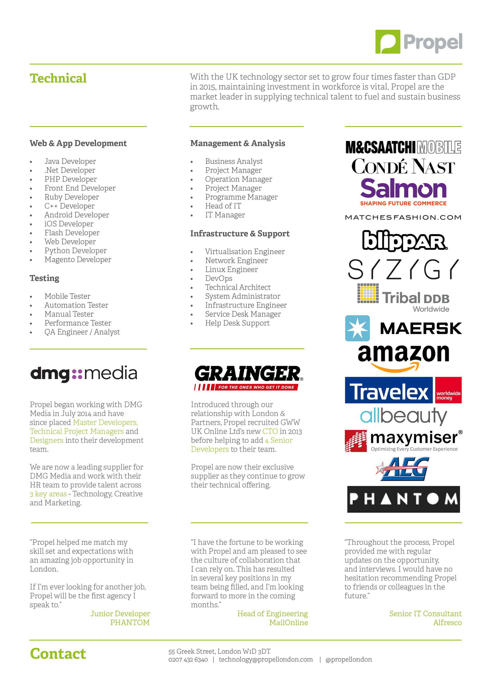 Tech Brochure on Behance
