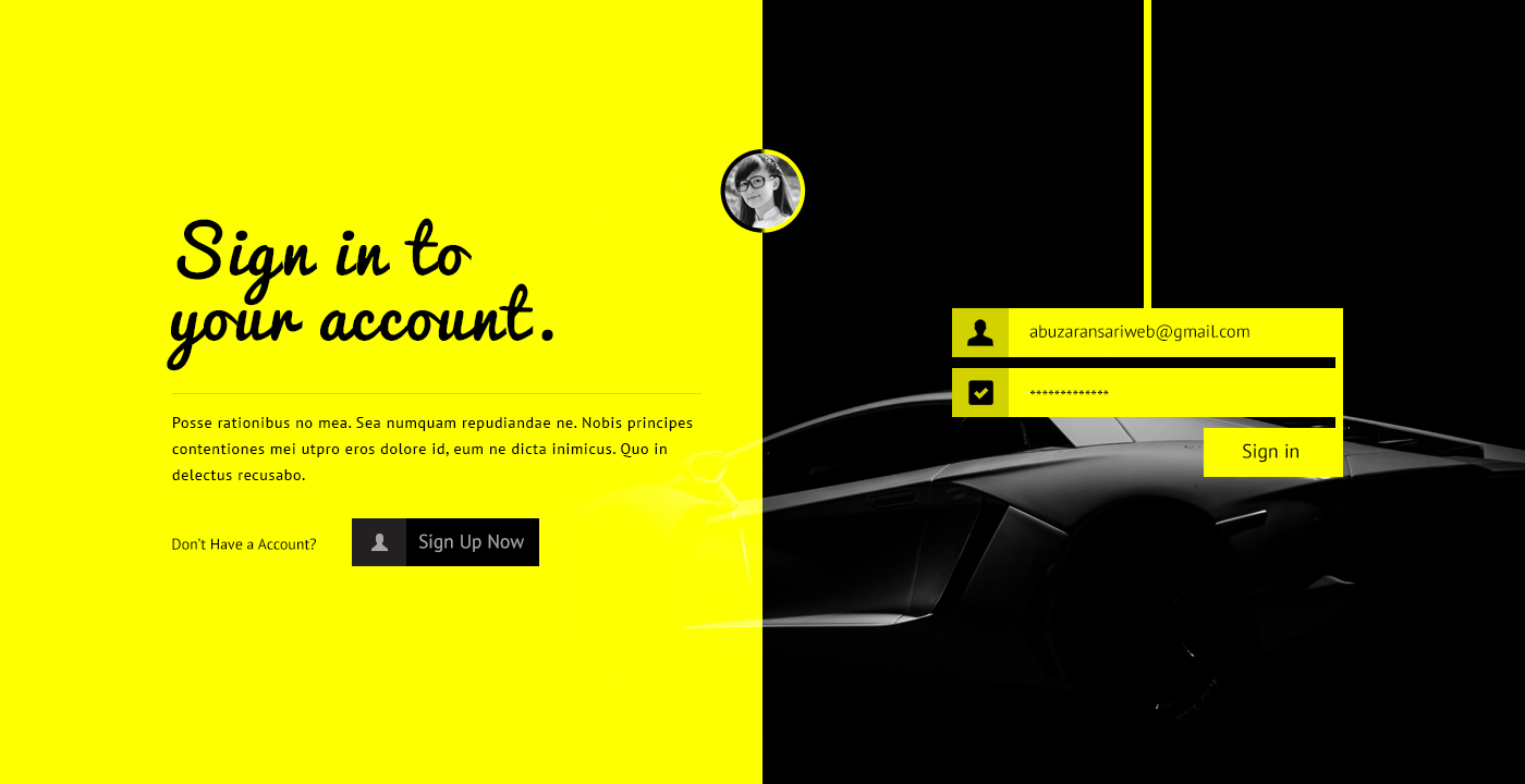 Login UI Design, Login Page. on Behance