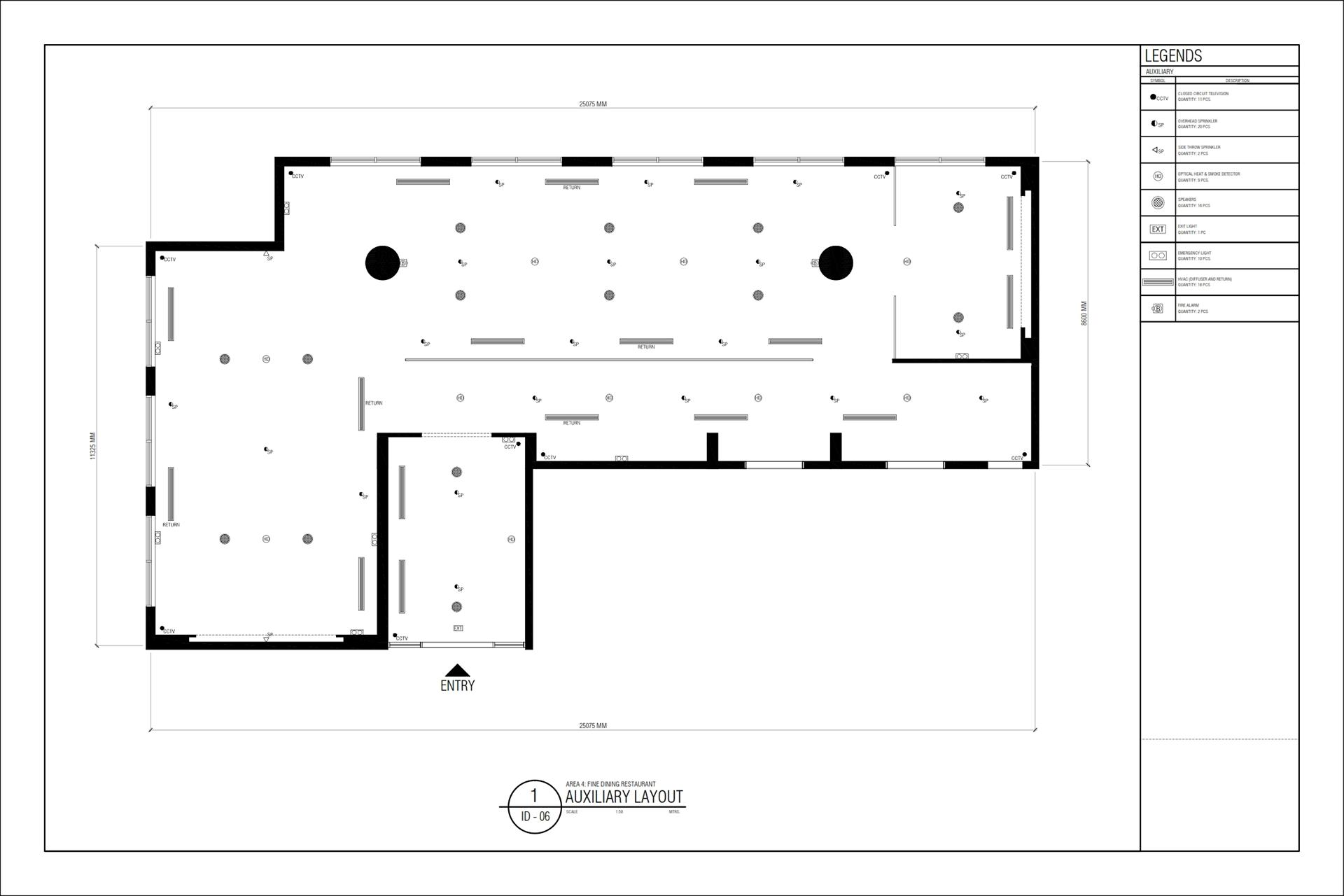 Area 4 Fine Dining Restaurant Design Concept Sumptuous On Behance