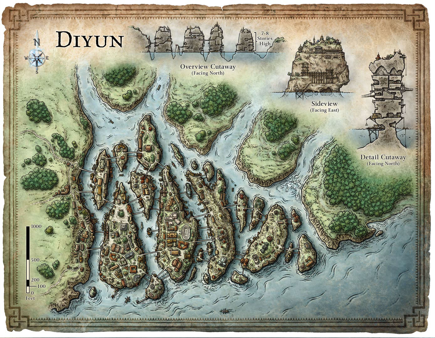 Map of Diyun