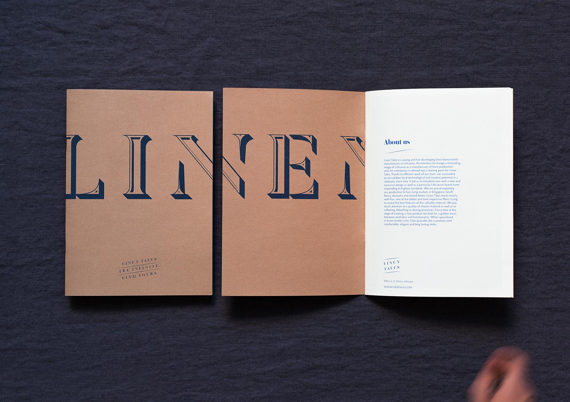 Linen Tales on Behance