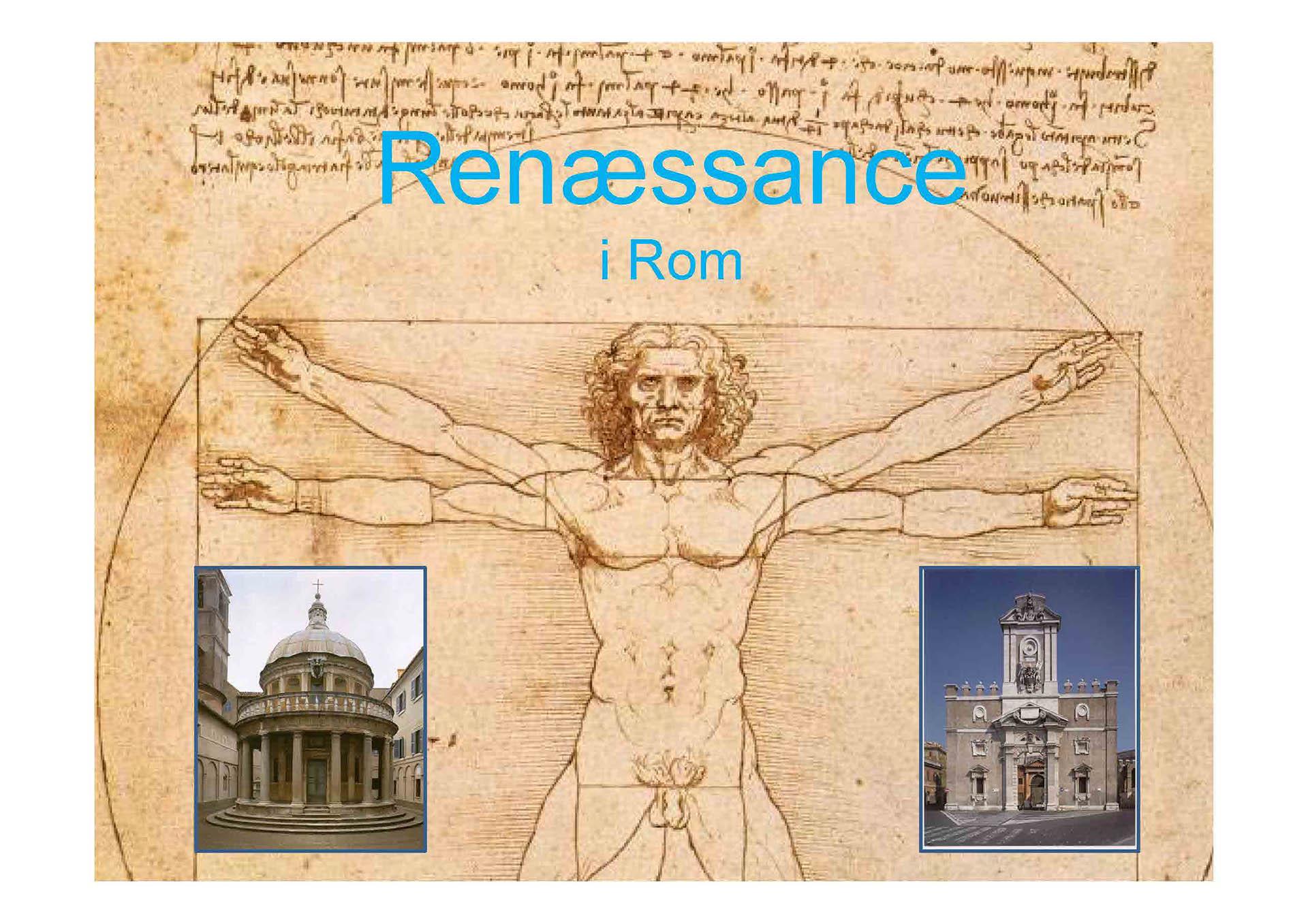 Dating i renæssancen perioden