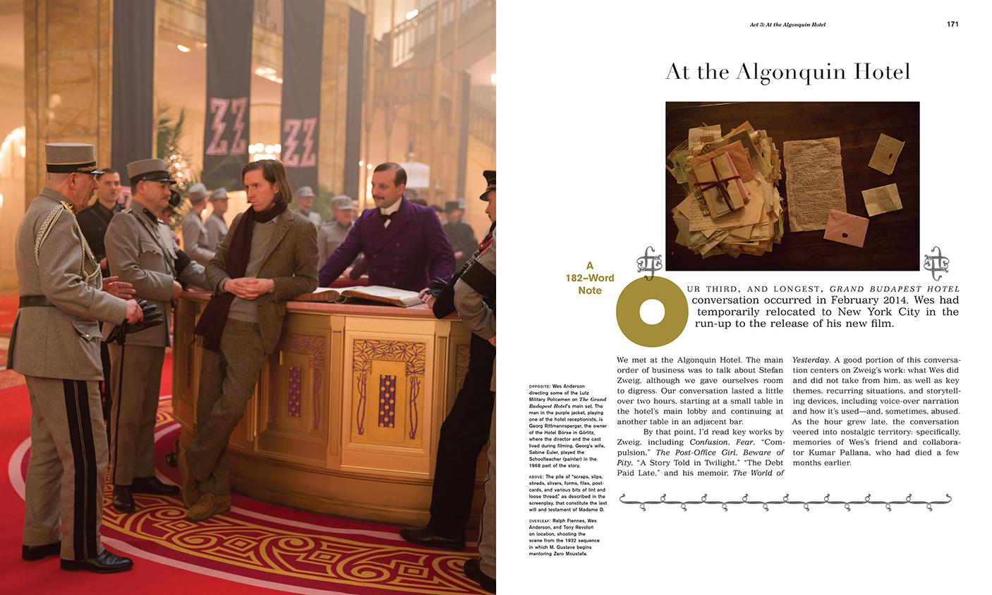 Martin Venezky The Grand Budapest Hotel Abrams 2015