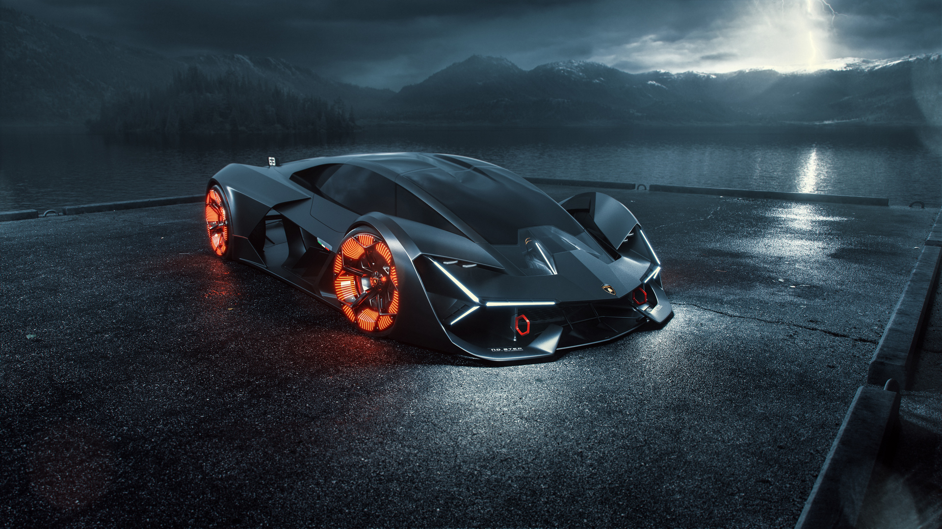 Lamborghini Terzo Millennio On Behance