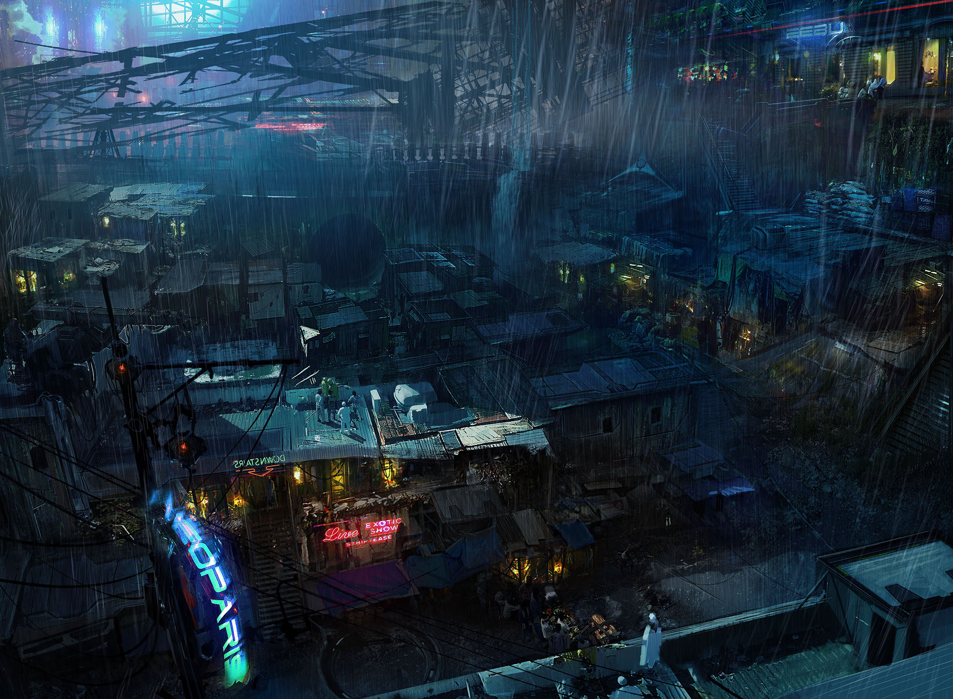 Game Design & Illustration: Remember Me | Paris 2084