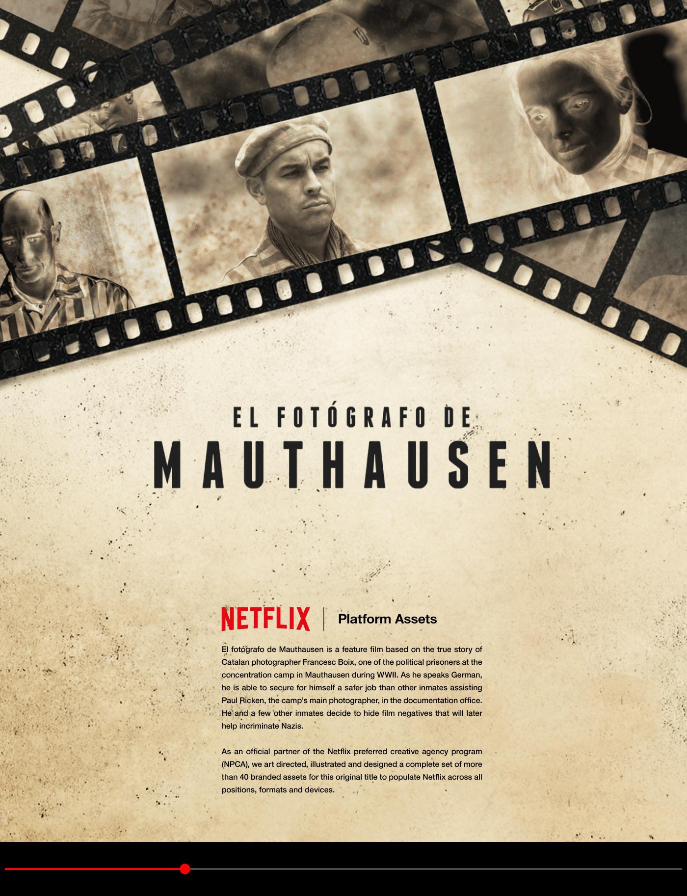 Netflix El Fotógrafo De Mauthausen Platform Art On Behance