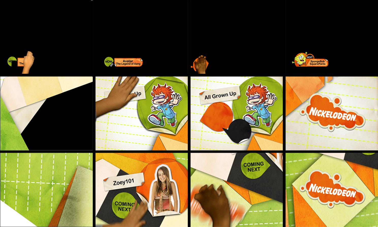 Shirley Cheng Nickelodeon Asia Rebrand 2006