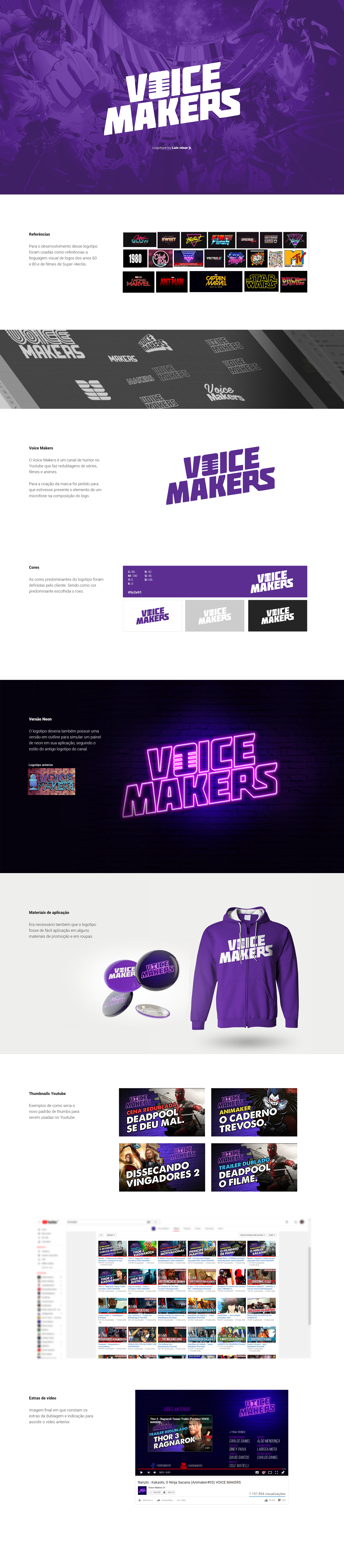 Voice Makers Logotype On Behance