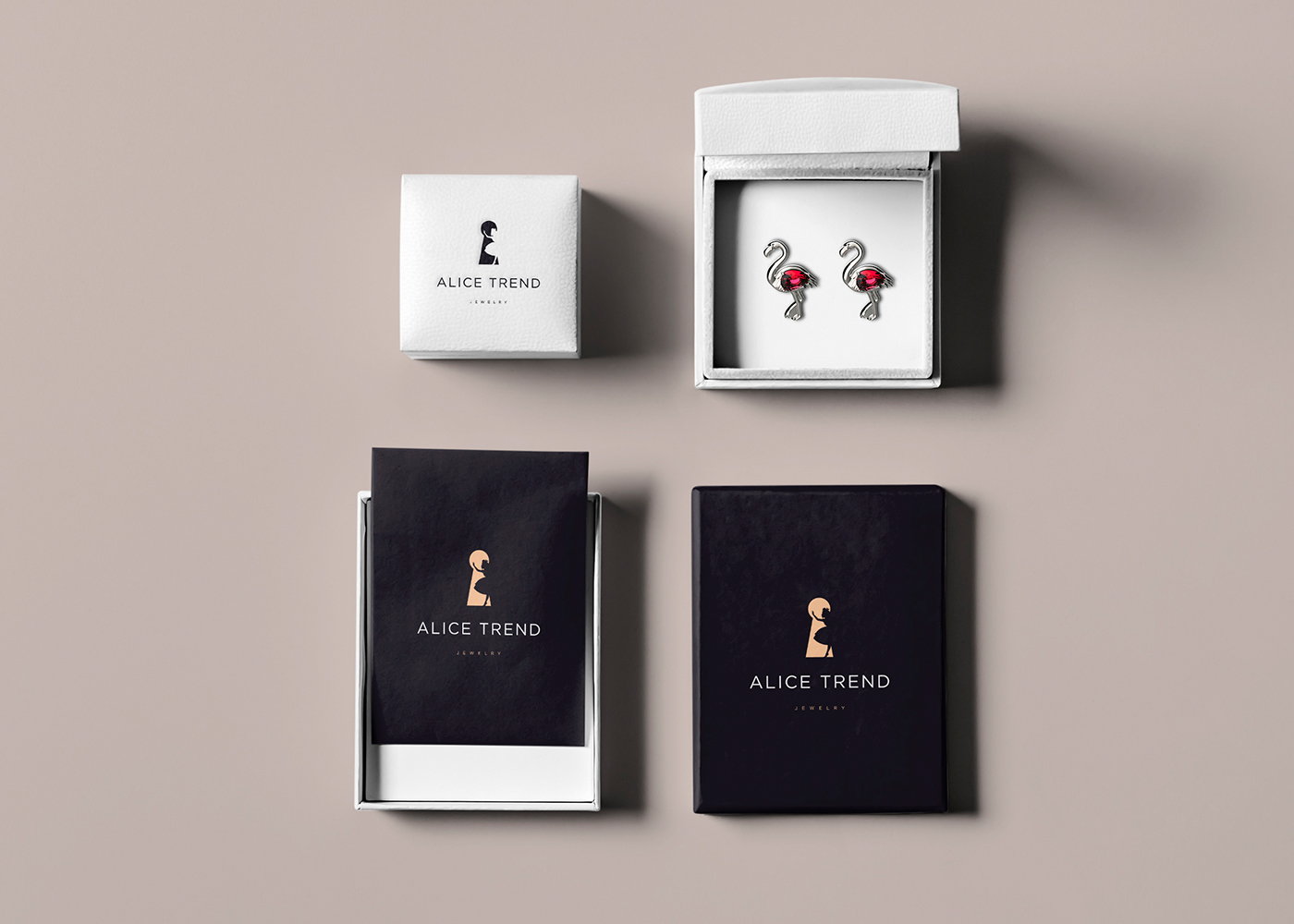Basis For The Fairy Tale Alice In Wonderland And Added A Brand Mystique Awe We Have Made Logo Business Cards Packaging Jewelry