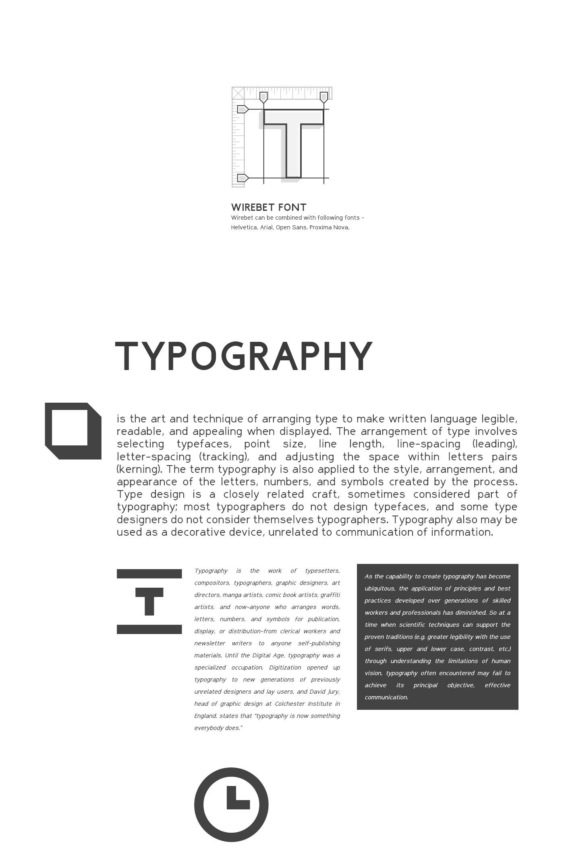 Wirebet - Free Font on Behance