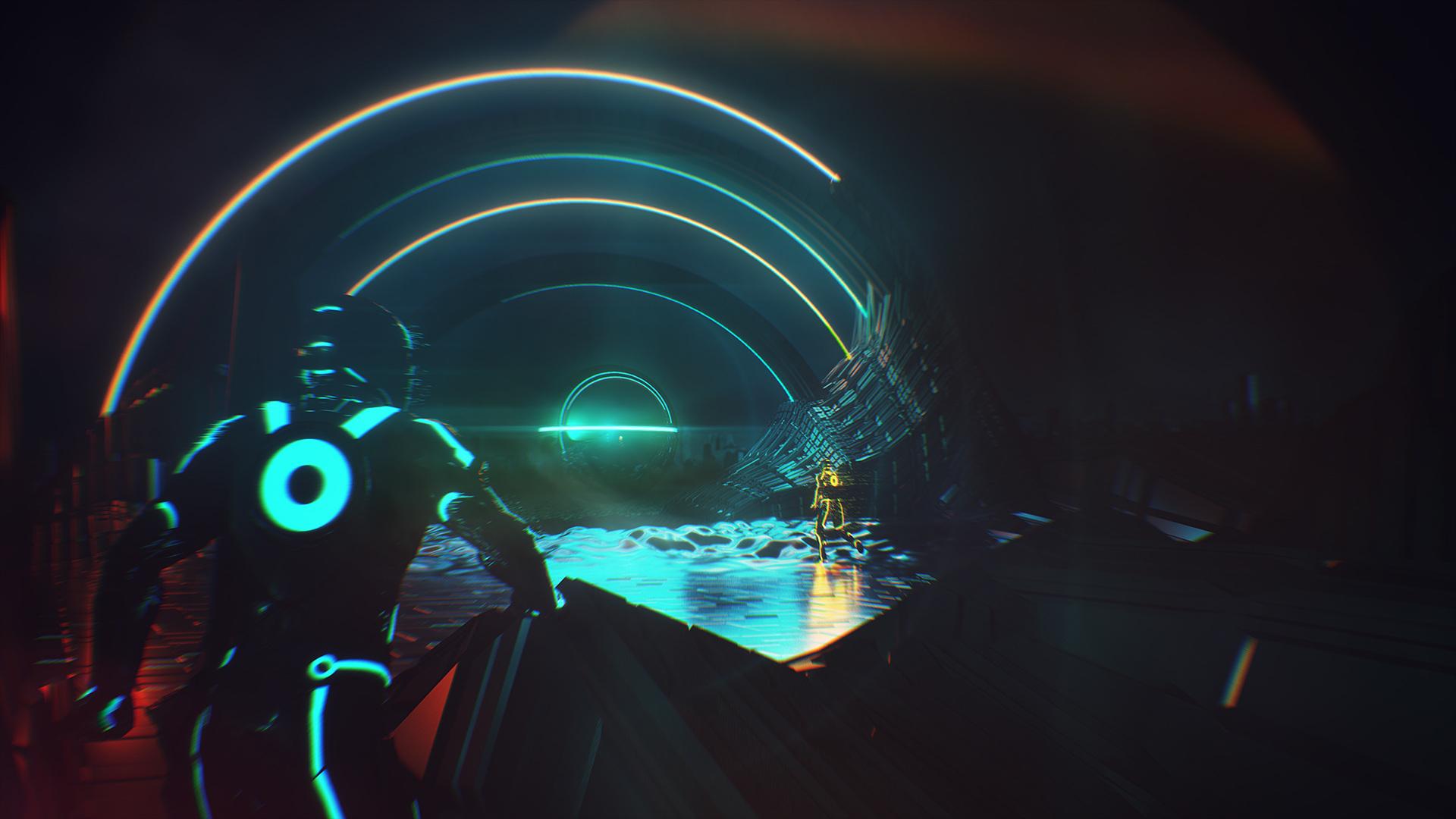 Digital Art & Game Design: TRON Concepts