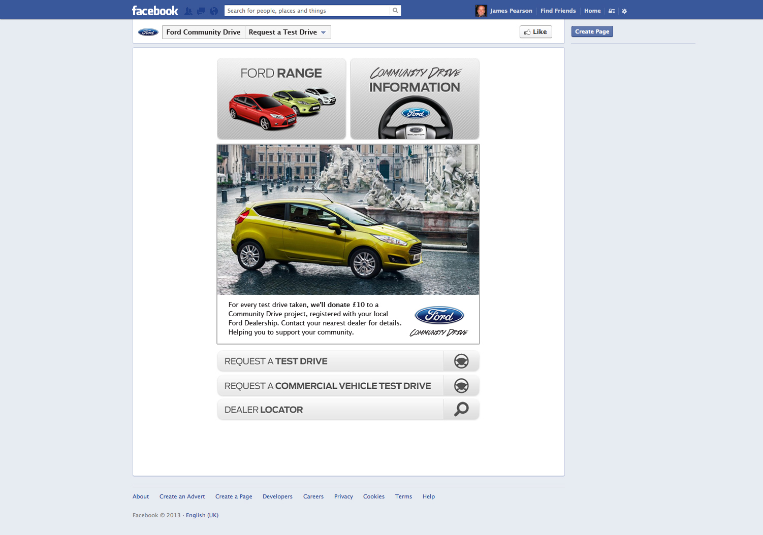 James Pearson Ford Integrated - Nearest ford dealership