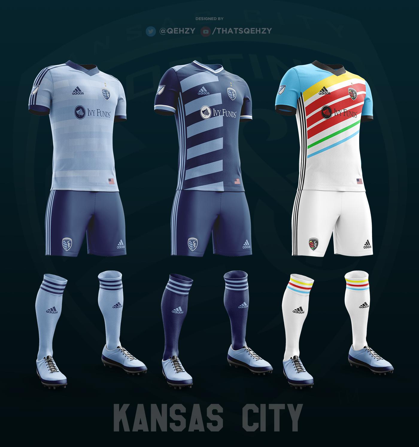 e597dce2b MLS Kits Redesigned (2017) on Behance