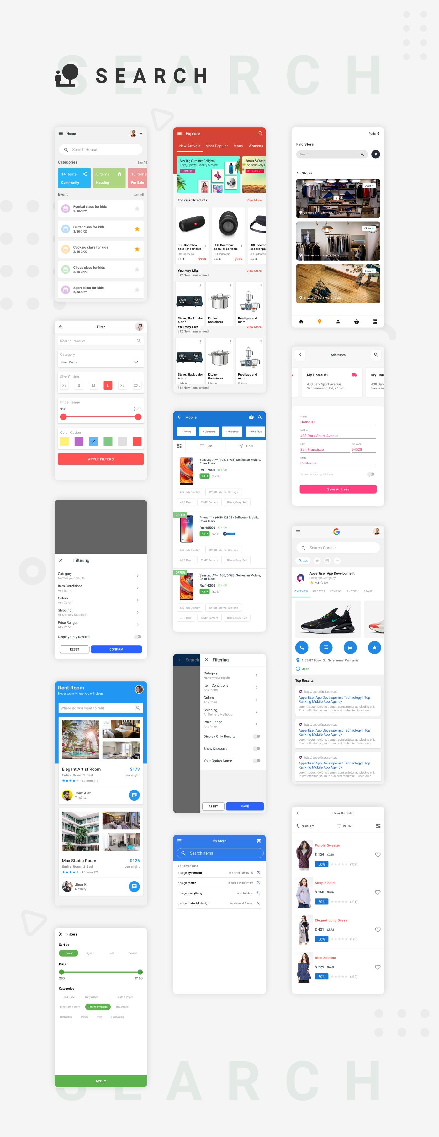 EcommerceX - Premium Ecommerce App UI Kit Template 1.0 - 7