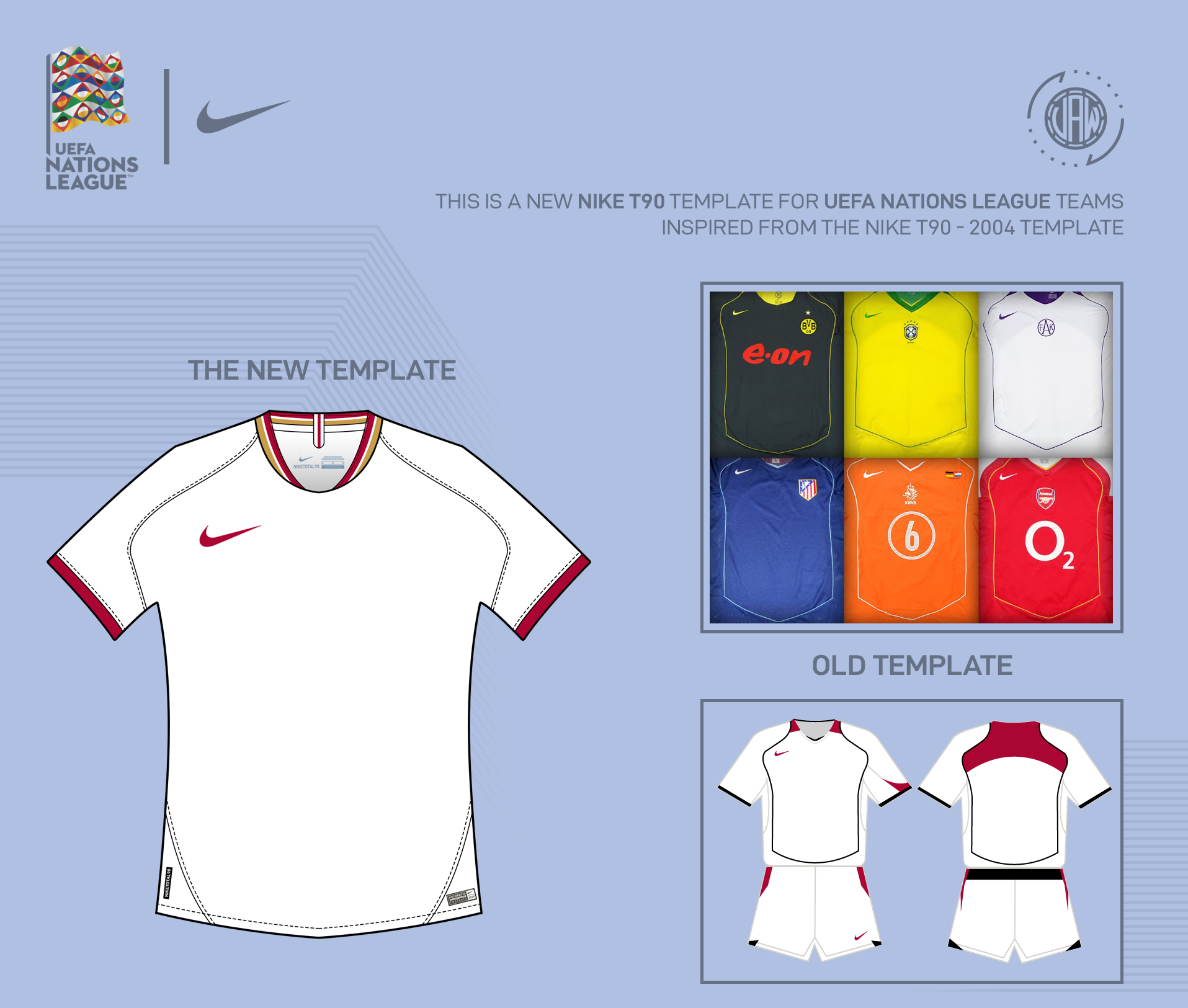 Nike 2018 | New T90 Template X Uefa Nations League on Behance
