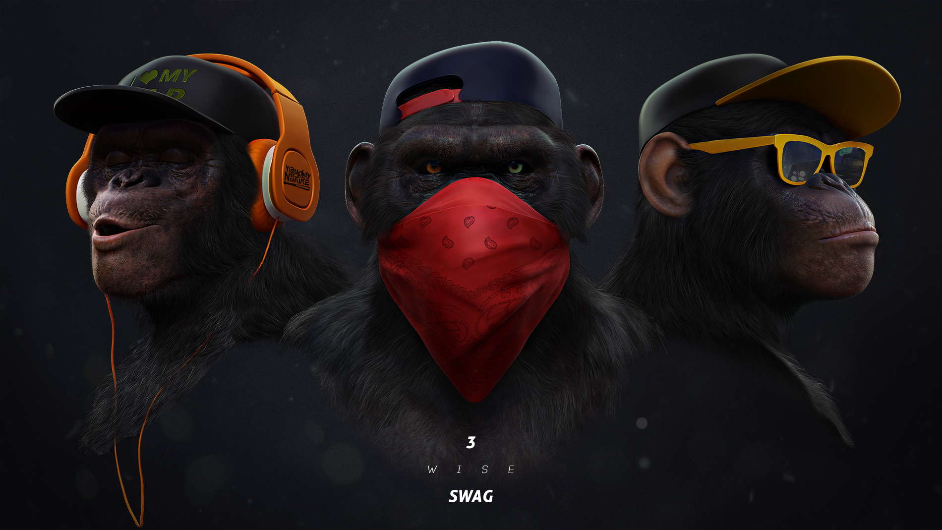 3 Wise Swag On Behance