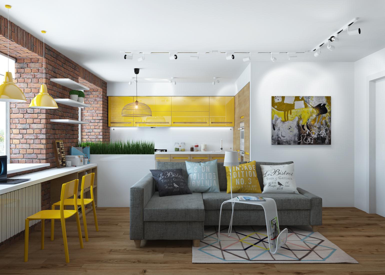 Дизайн двухкомнатной квартиры бюджетные