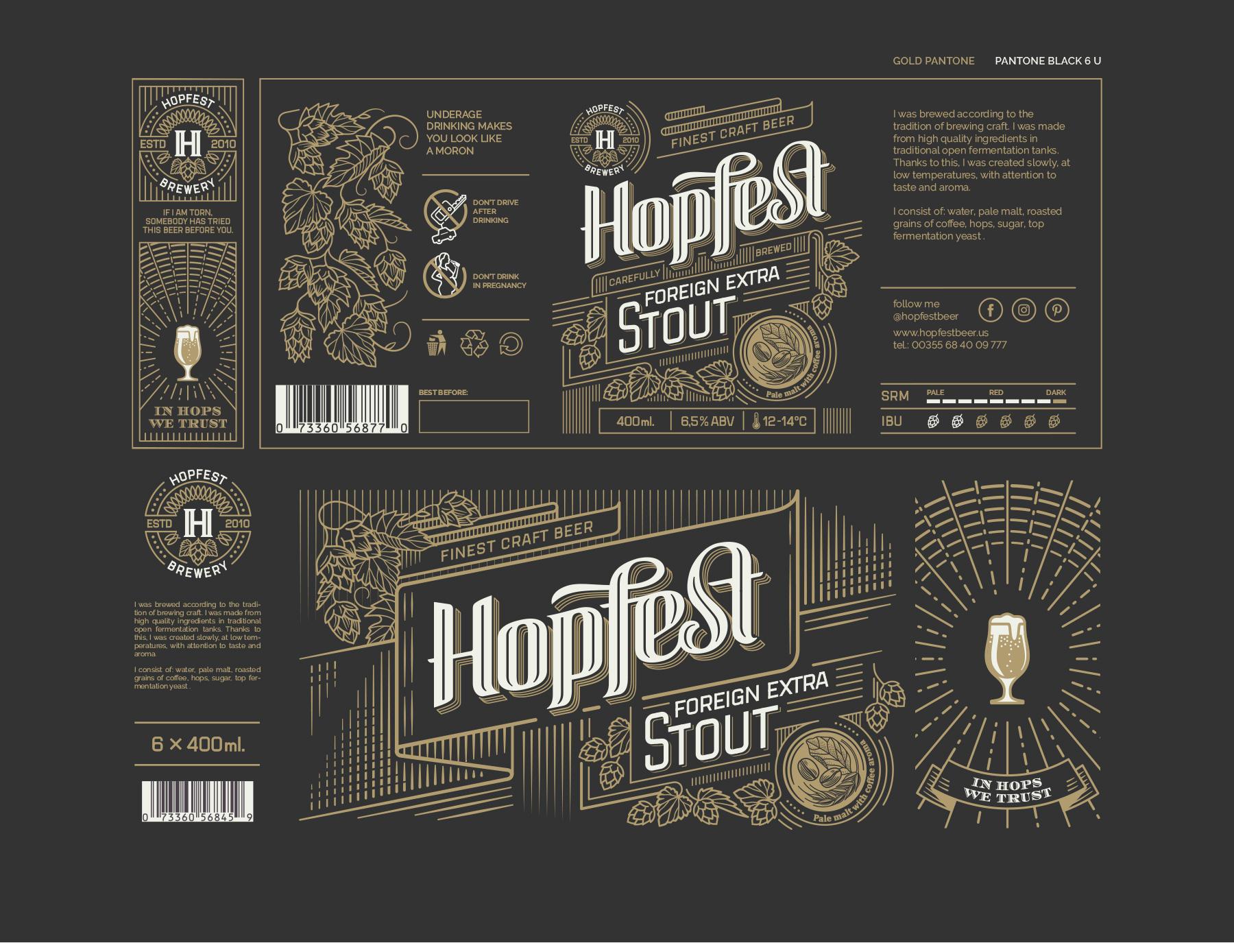 Hopfest Craft Beer On Behance