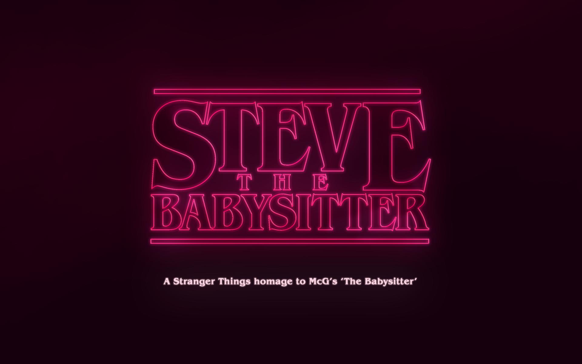 Steve The Babysitter On Behance