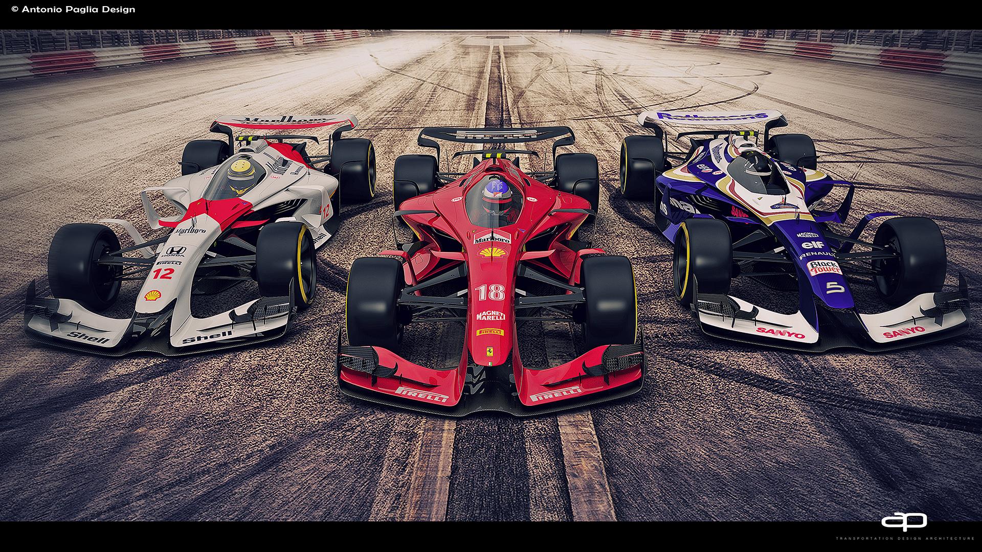 F1 vision concept 2025