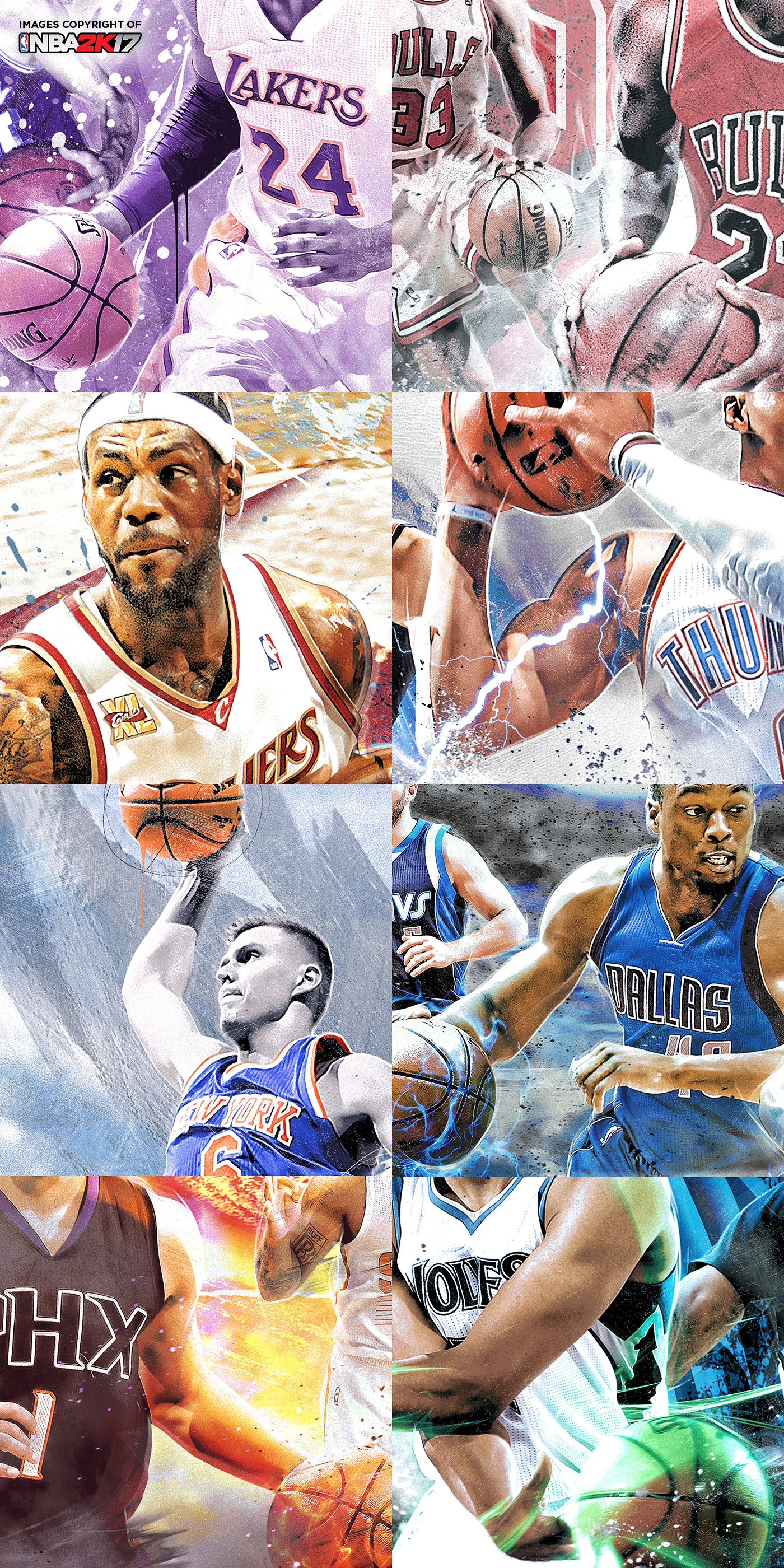 Nba 2k17 mycourt murals on behance please enjoy and for those whove been playing the game let me know which mural youre using amipublicfo Image collections