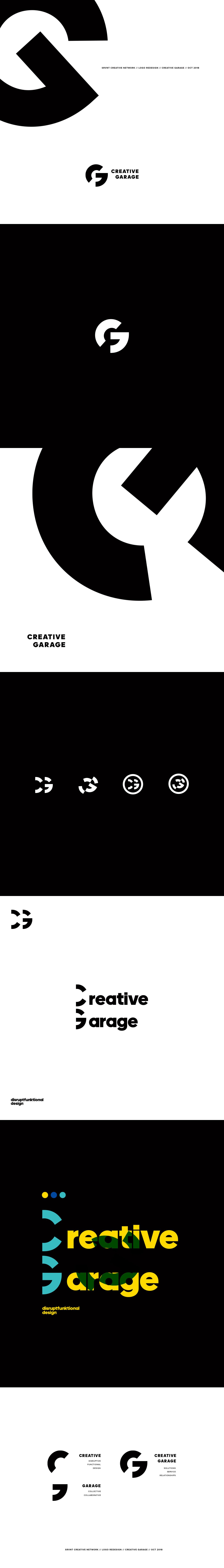 Creative Garage Logo Redesign On Behance