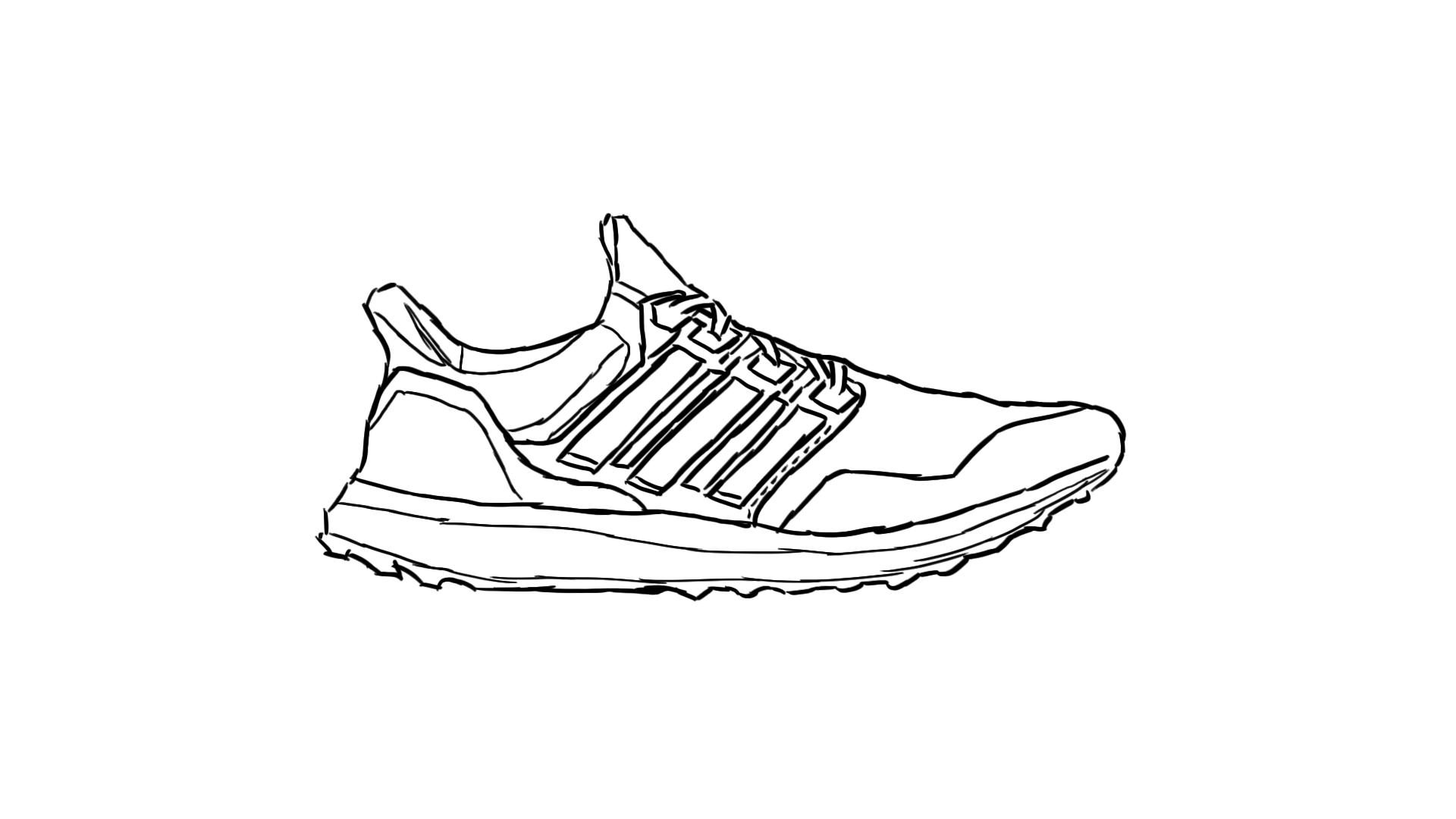 Painting White Ultraboost