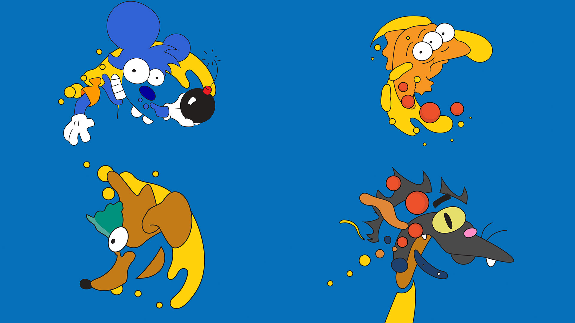 FX The Simpsons brand IDs on Behance