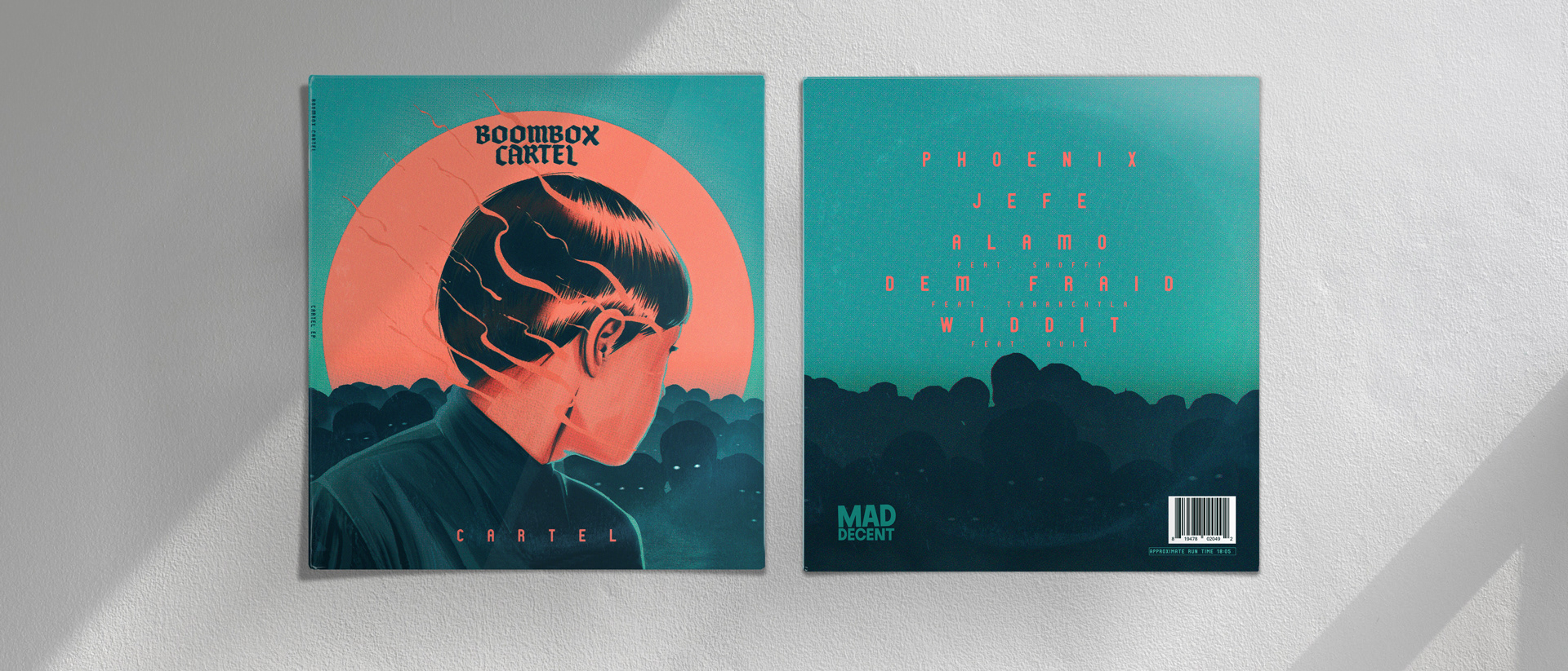 Music Album Cover Illustrations by El Diablo