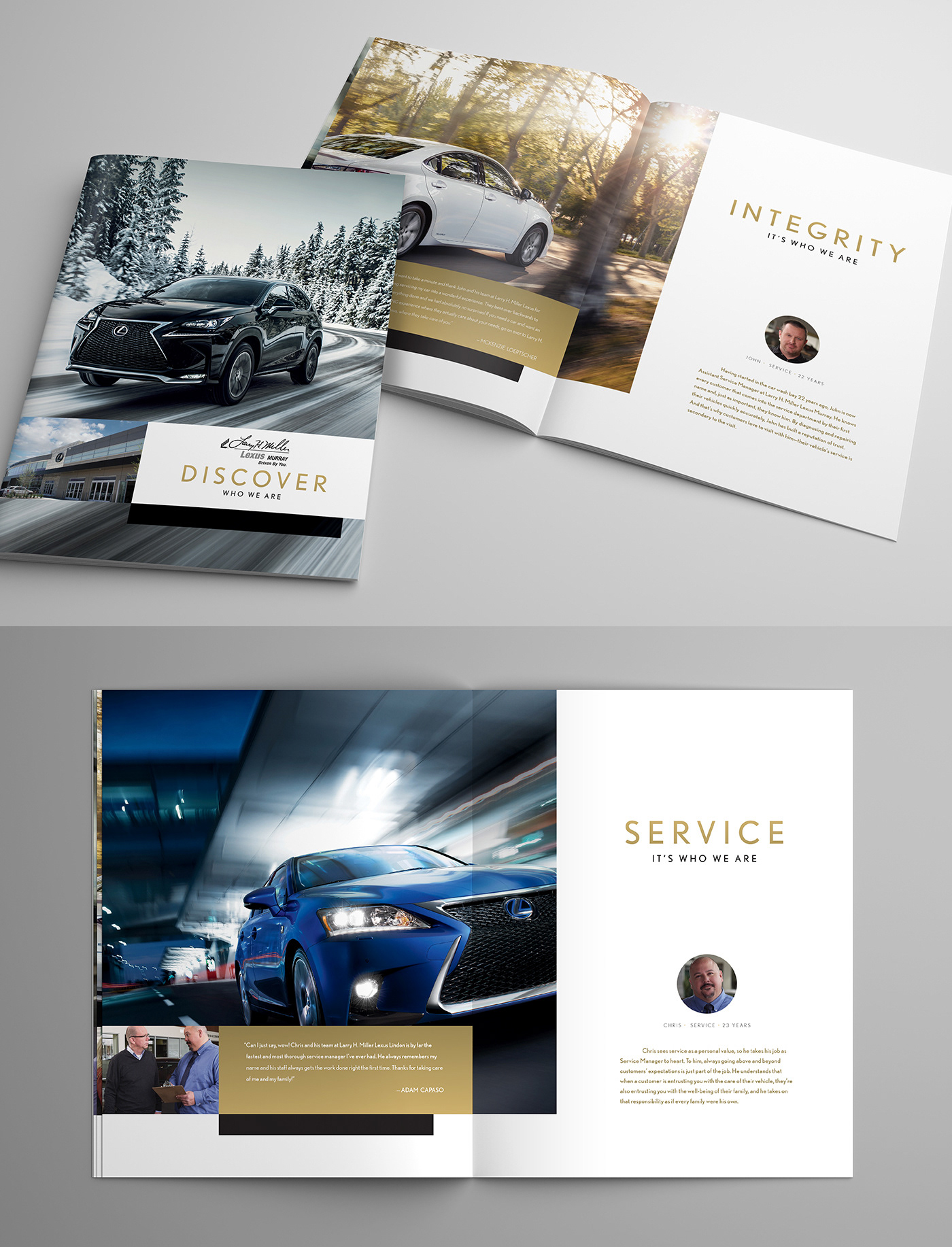 Who We Are: Larry H. Miller Lexus On Behance