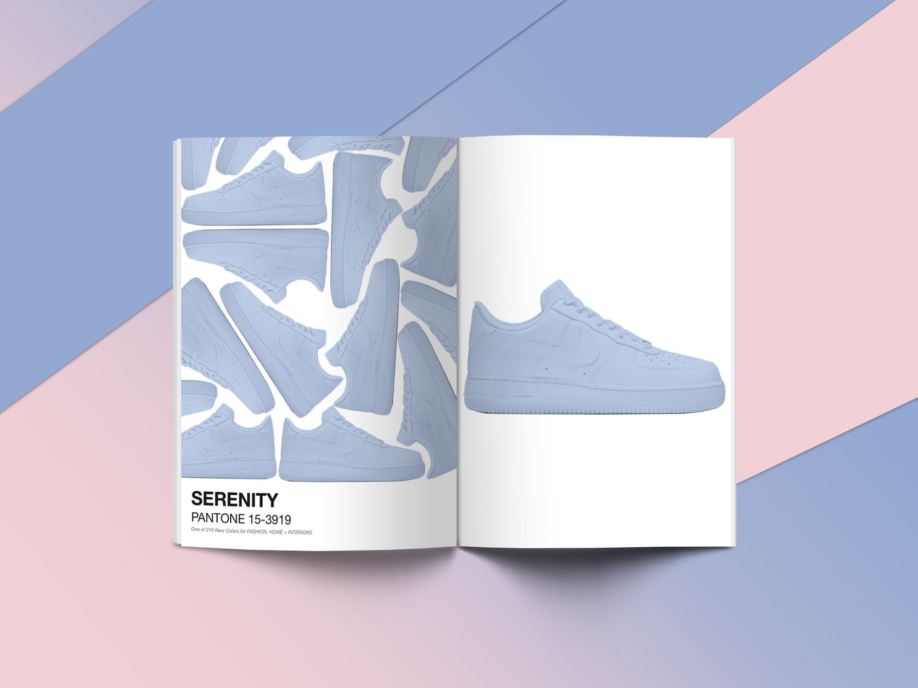 meet 0ca0d aa4bb Pantone + Nike - Perfect for this Spring on Behance