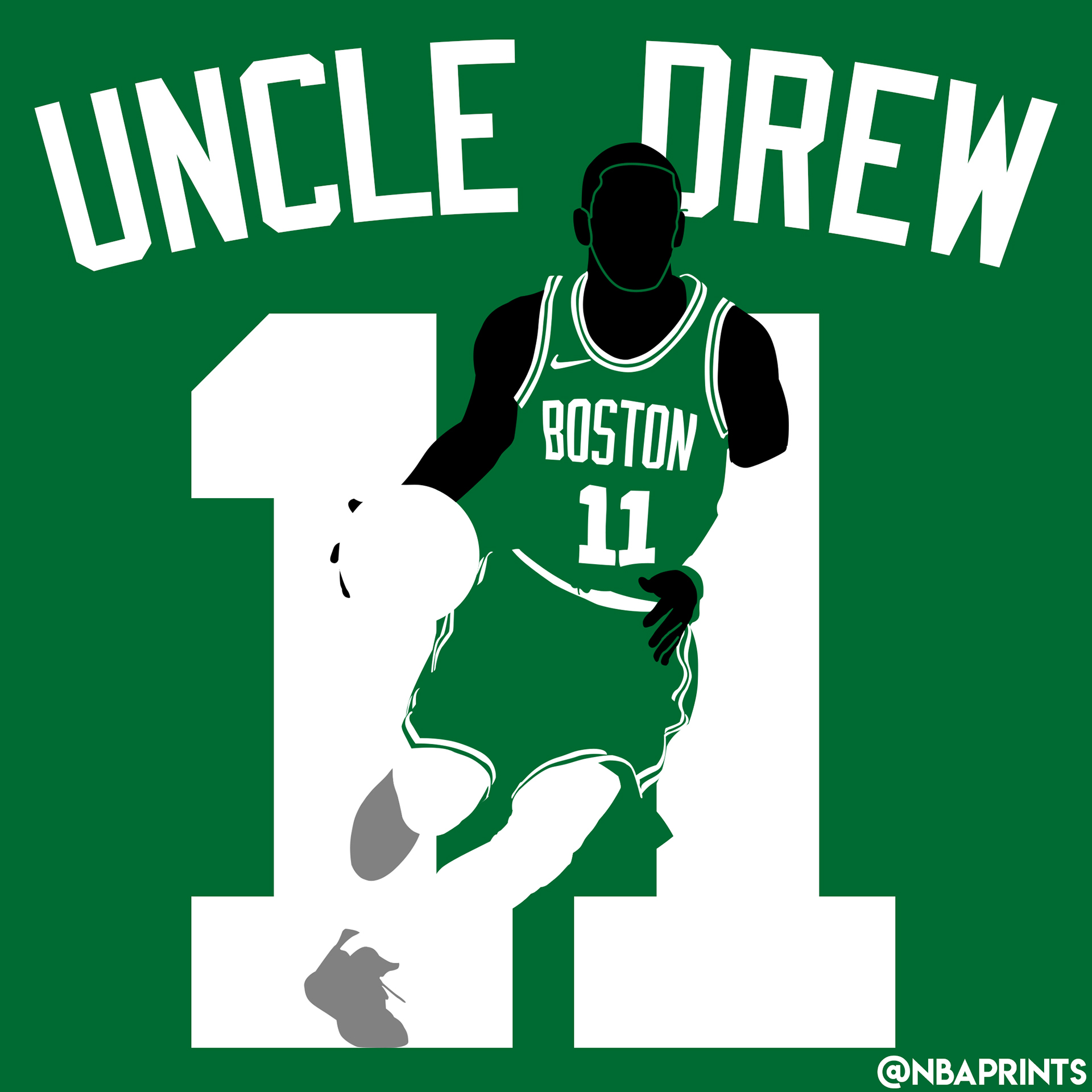 huge selection of fcf6e 5b120 Uncle Drew Vector on Behance