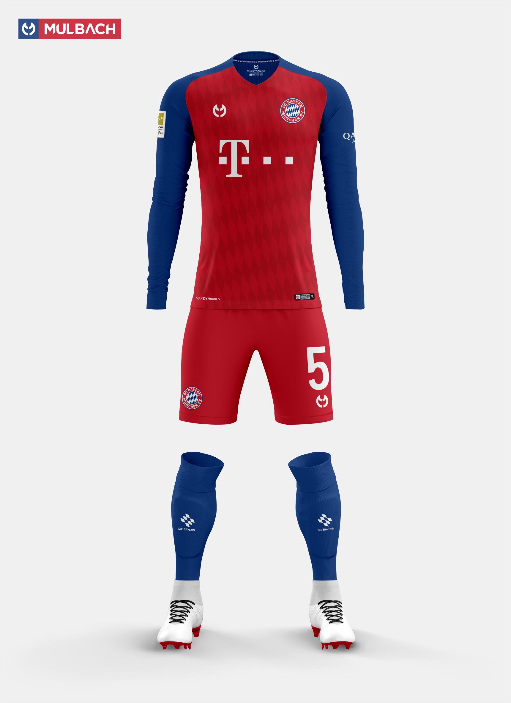 6dfdb6b32 Bayern Munchen 2019/2020 Kits Concept on Behance