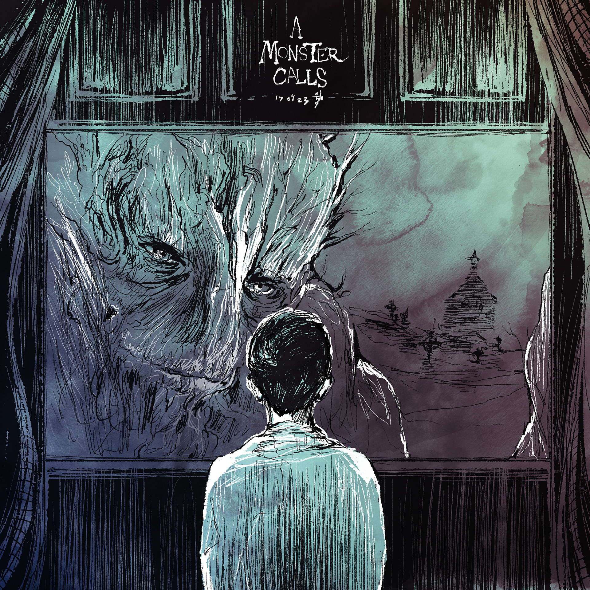 a Monster Calls / Movie fanart poster & cover on Behance