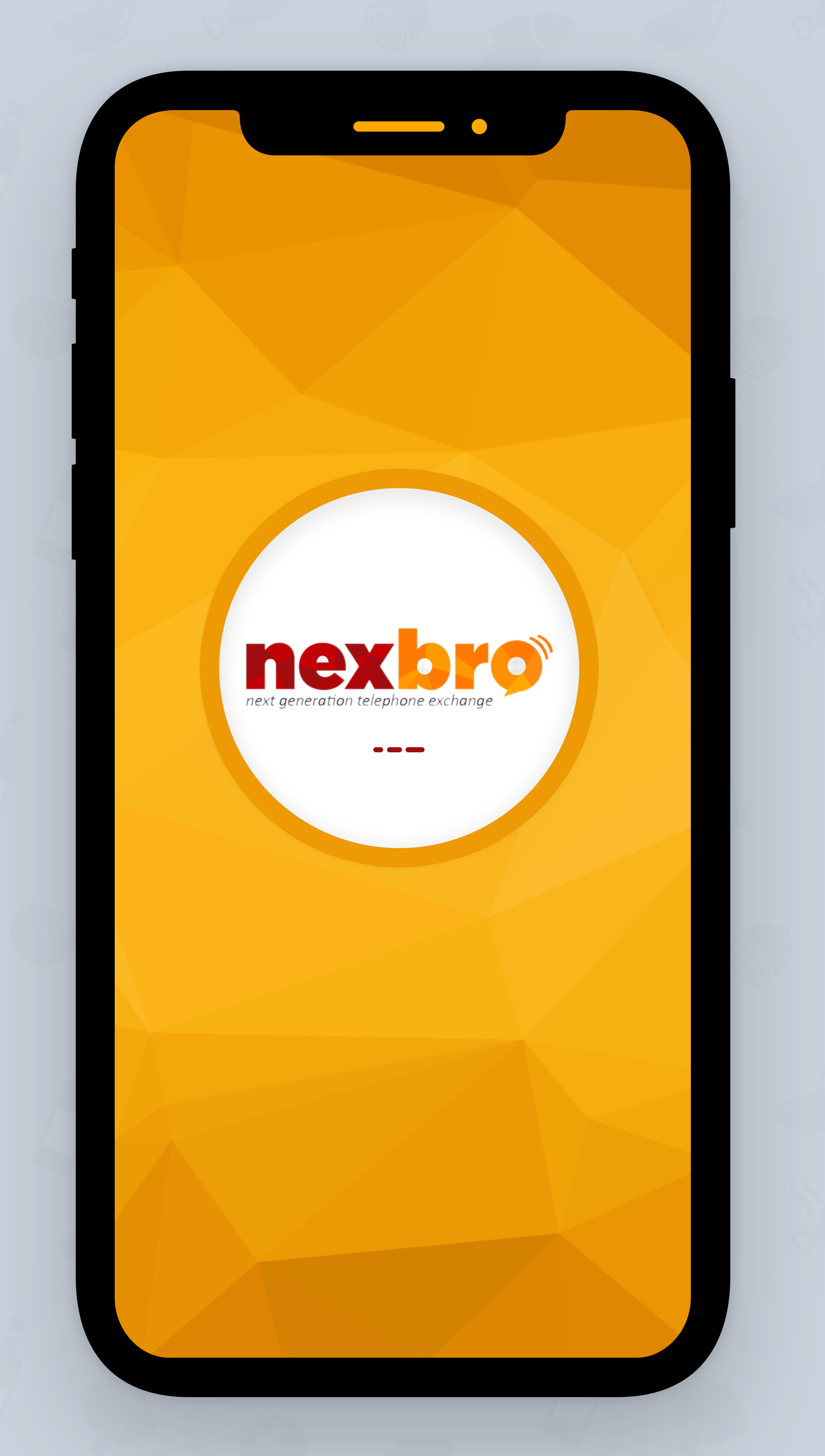 Design a splash screen for Nexbro (Calling Application) on Behance