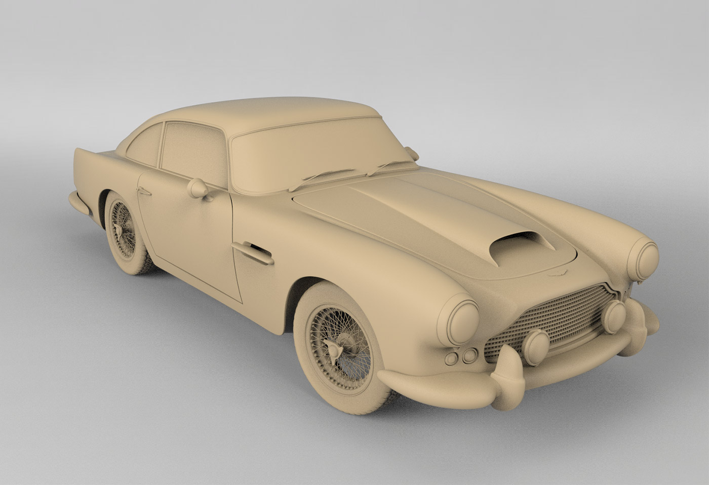 Behind The Scene Making A Classic Car Come To Life on Behance