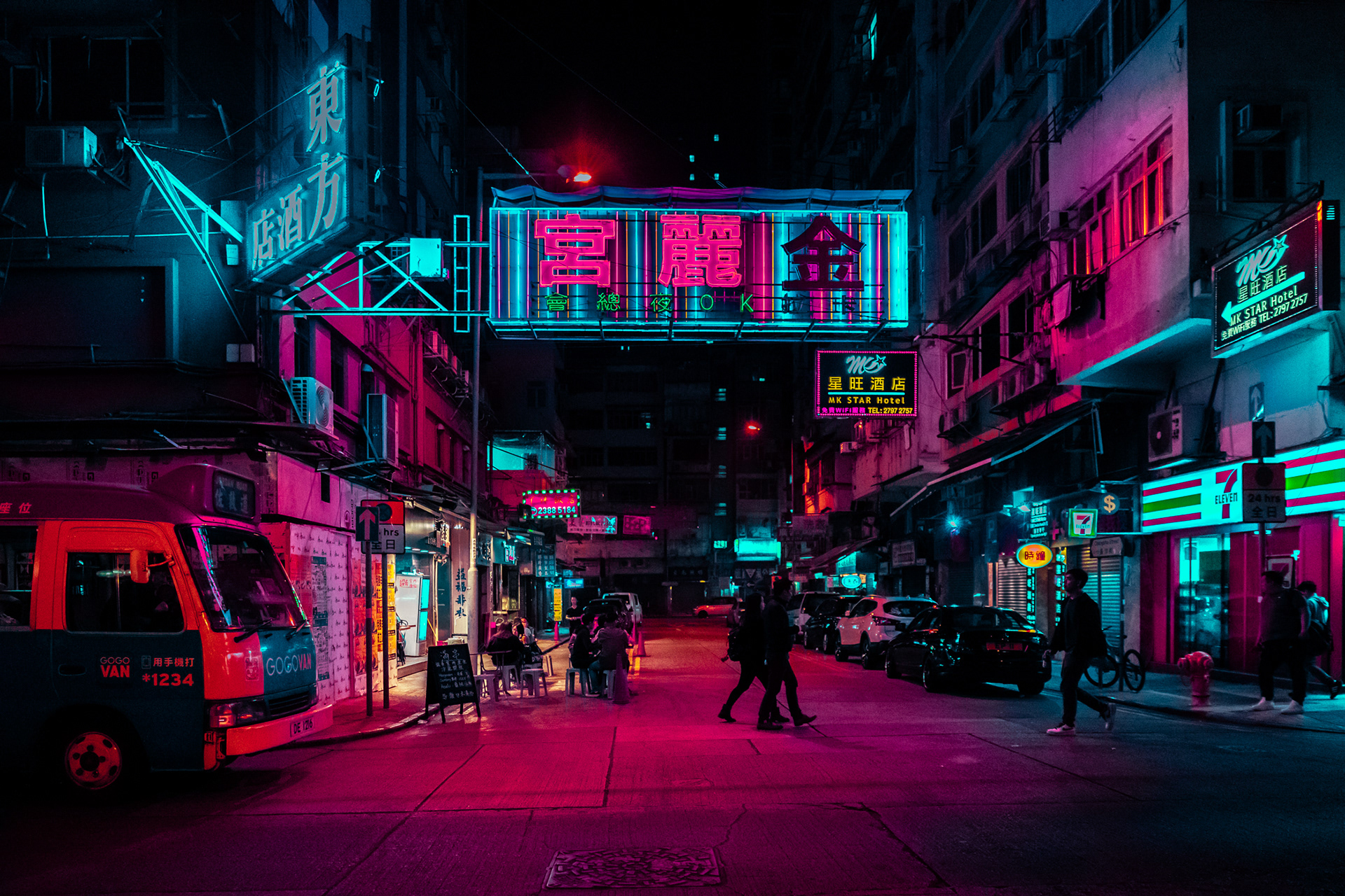 #HONGKONGGLOW: A photography project by Xavier Portela