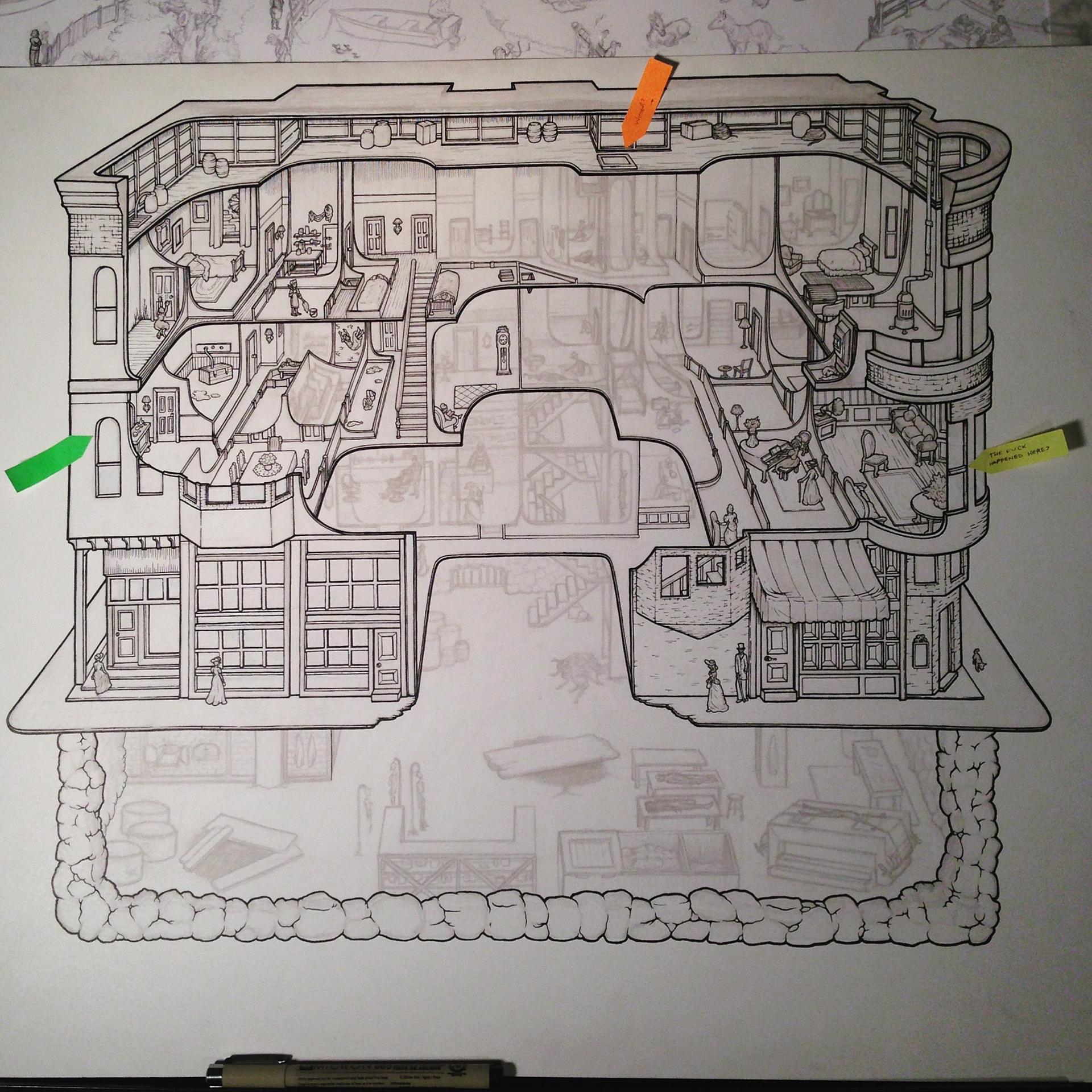 H H Holmes Murder Castle On Behance