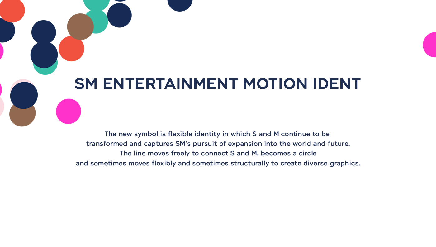 Sm Entertainment Motion Identity On Behance