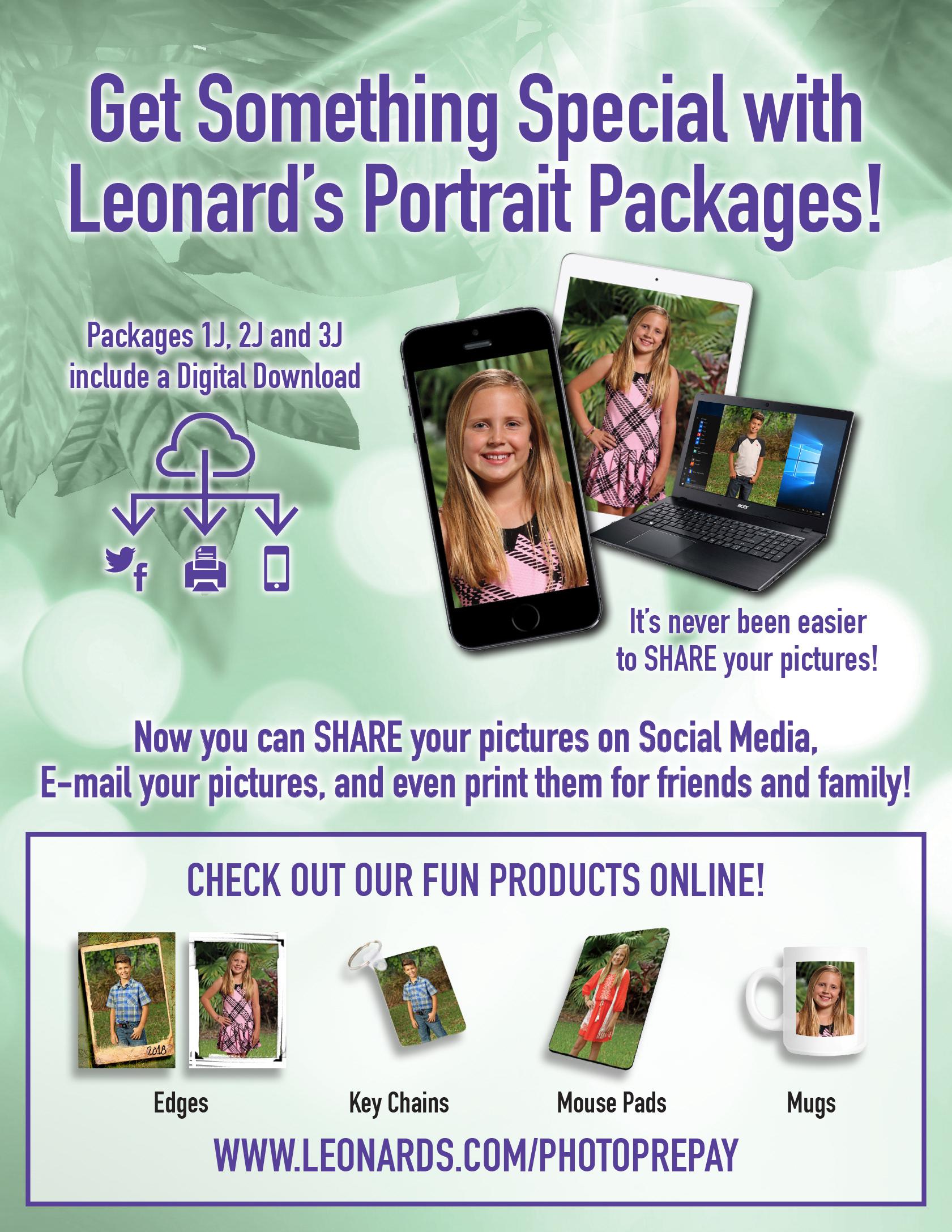 Leonards Photography Spring Portraits 2018 Flyer On Behance